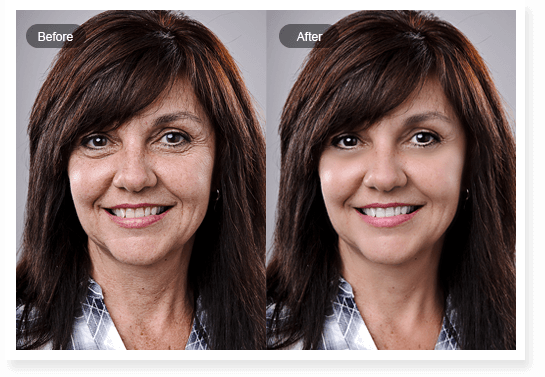 how to look younger in photos