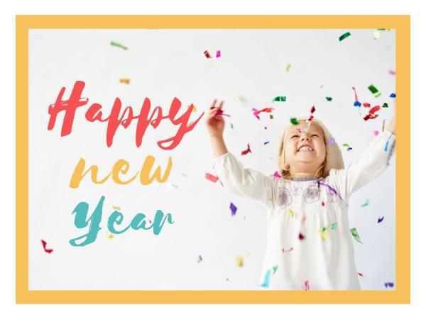 Online New Year Wishes Card Template | Fotor Design Maker