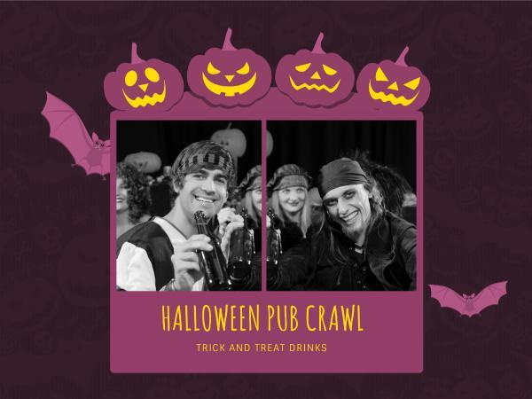 Halloween Pub Party