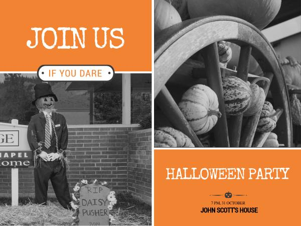 Spooky halloween party invitation card maker create custom photo why fotors spooky halloween party invitation card maker has everything you need stopboris Choice Image