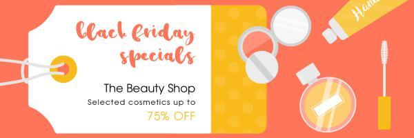 Cosmetics Black Friday