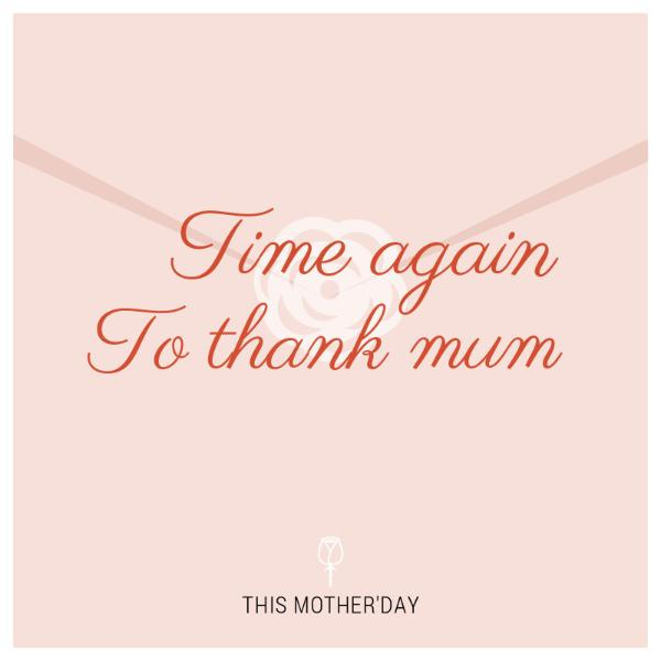 pink envelope mother's day