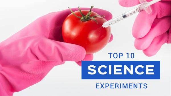 Top 10 Science Experiments