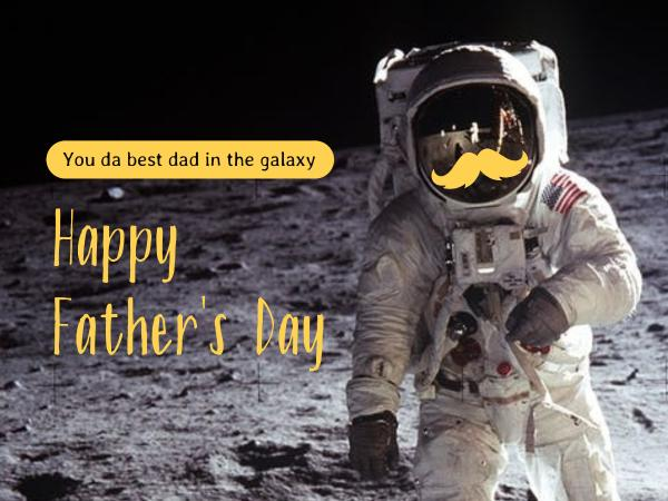 astronaut father's day