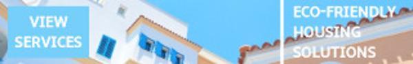 03浅色房子蓝天