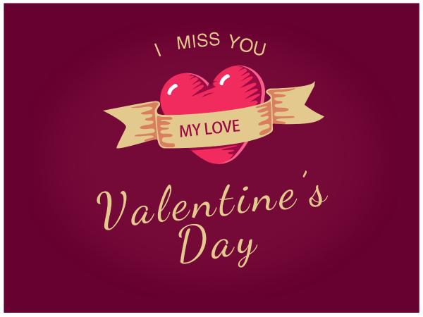 Valentines day card maker create custom photo cards online fotor red purple valentines day m4hsunfo