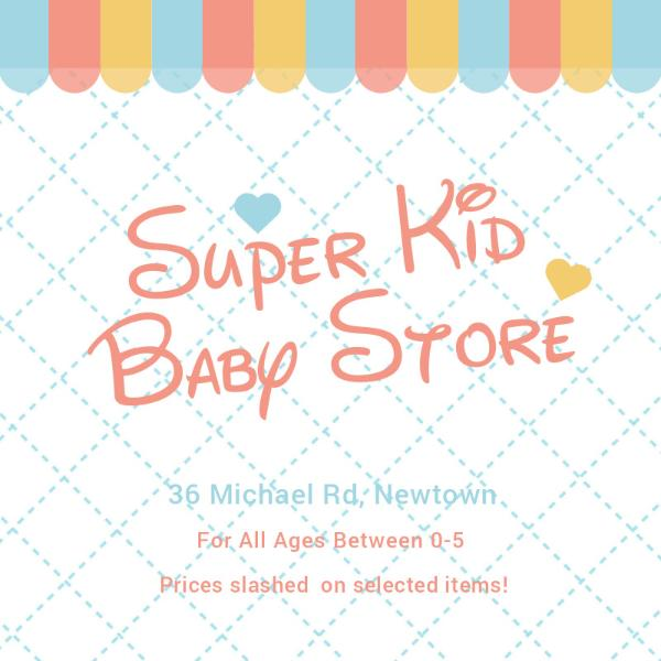 Baby store promotion