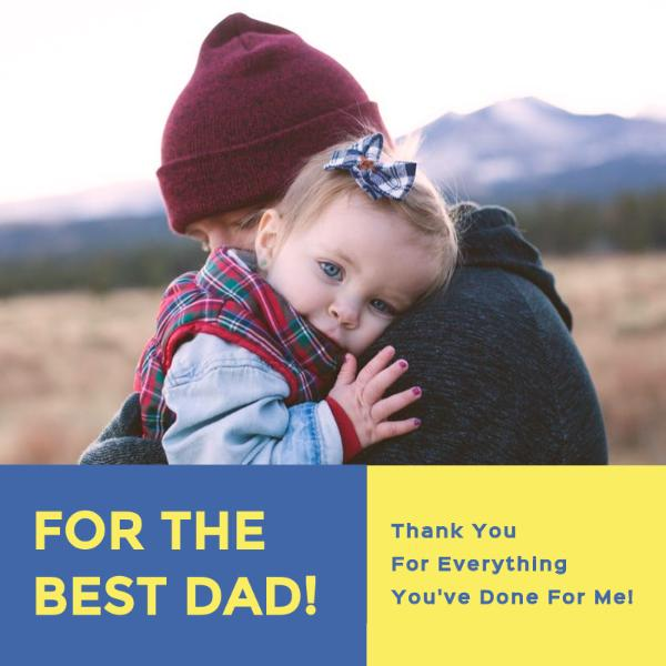 Father's day appreciation card
