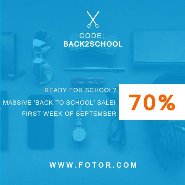 Back to School Discount