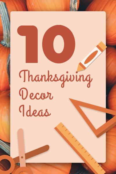 Thanksgiving Day Decor
