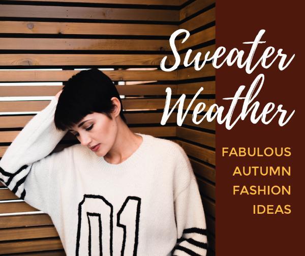 fashion sweater autumn idea
