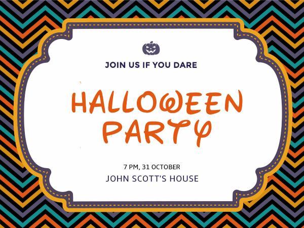 Pumpkin halloween party invitation card maker create custom photo why fotors pumpkin halloween party invitation card maker has everything you need stopboris Image collections