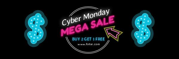 Cyber monday mega sale