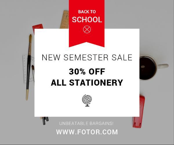 New Semester Sale
