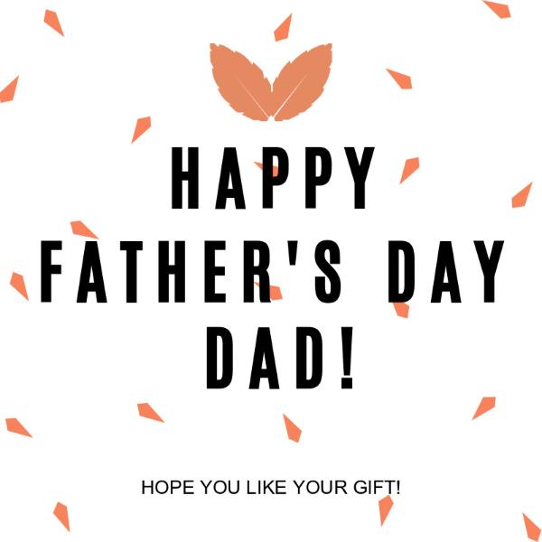 Father's Day Gift Greeting