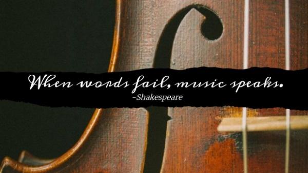 Dark Classic Music Banner
