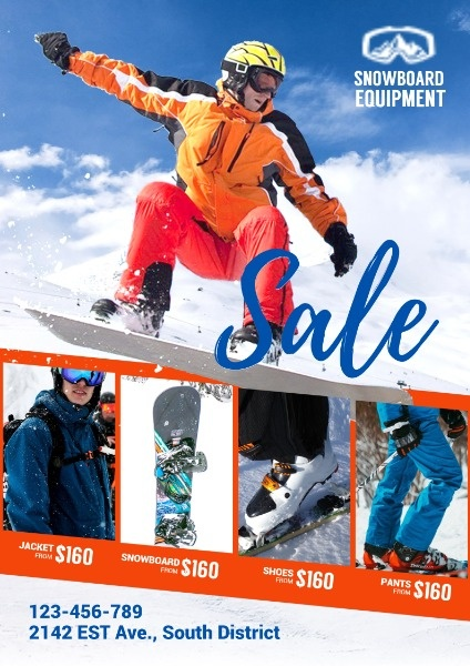 Skiing Sports Gear Sale
