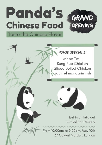 Panda Chinese Food Restaurant