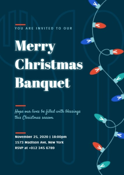 Merry Christmas Banquet