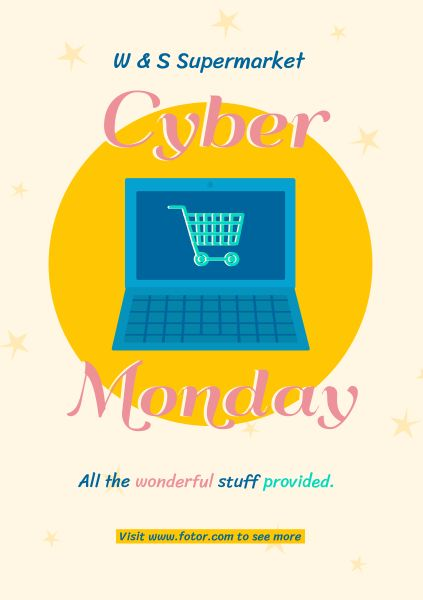 Shopping Cyber Monday Super Sale