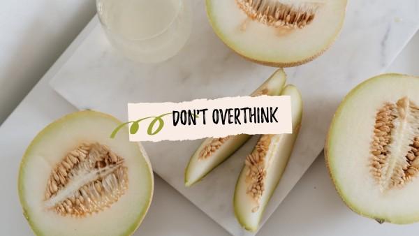 White Fruit Wallpaper
