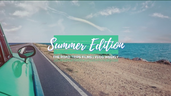 Simple Summer Road Trip Youtube Channel Art
