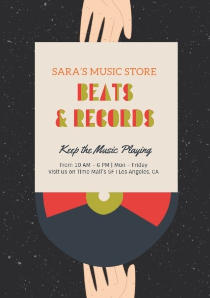 Music Store Beats And Records