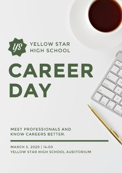 White Career Day Program