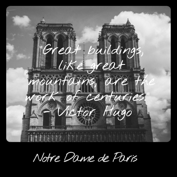 Notre Dame Cathedral - Famous Building In Paris