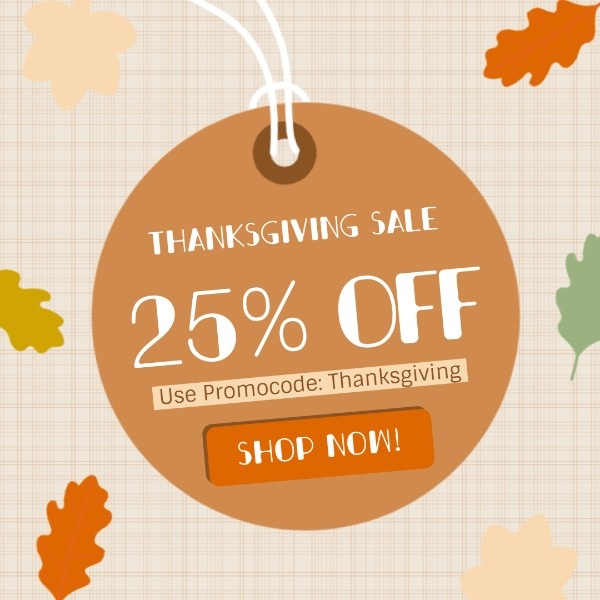 Orange Thanksgiving Discount