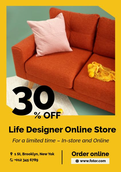 Furniture Online Sale Ads