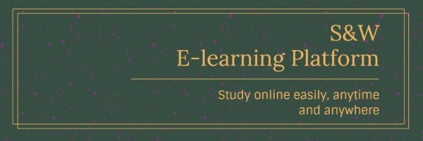 E-learning Education School Banner