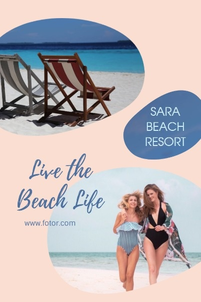 Pink Beach Resort Ads