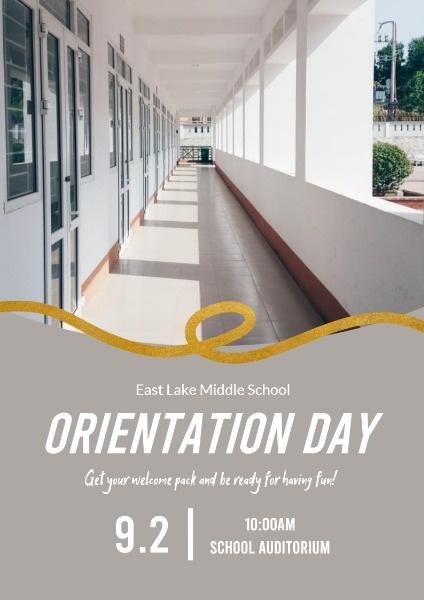 Modern Orientation Day