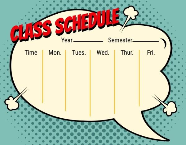 24class schedule_lsj