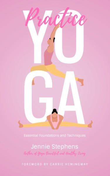 Pink Women's Yoga Book