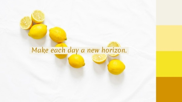 White And Yellow Lemon Wallpaper
