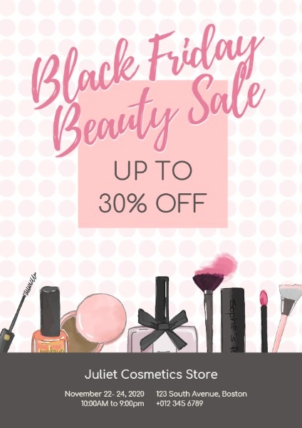 Black Friday Beauty Sale