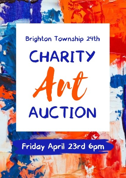 Poster Maker Design Charity Art Auction Poster Online For Free Fotor
