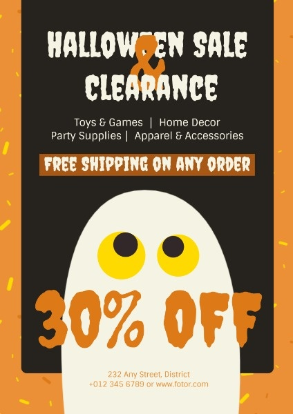 Halloween Shop Sale