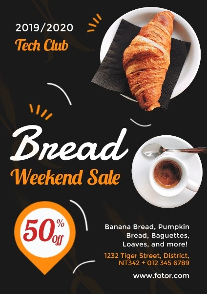 Cake And Bread Sale