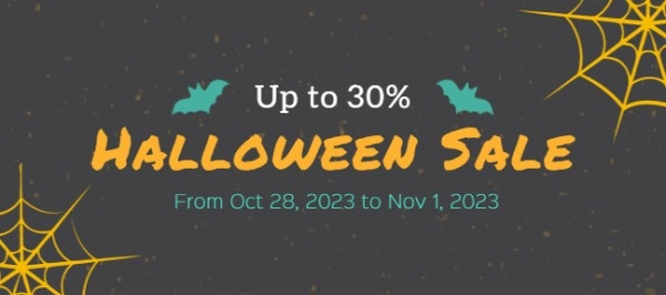 Halloween Big Sale Coupon