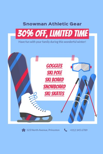 Snowman Athletic Gear  Discount