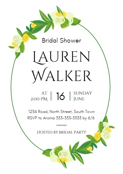 Bridal showerinvitation maker diy custom invitation card online top reasons to use fotors bridal shower invitation maker stopboris Choice Image