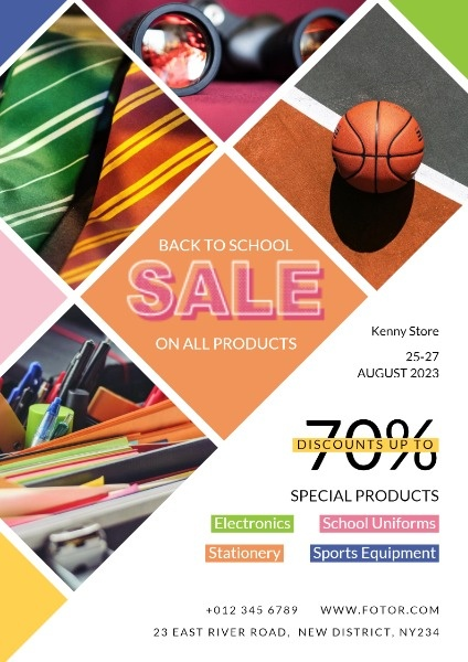 Stationery Back To School Sale
