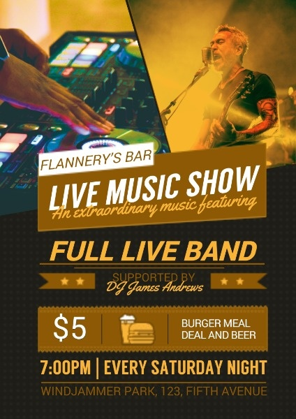 Bar Live Music Show