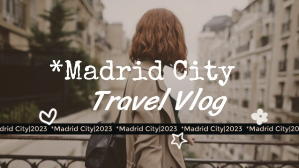 Madrid City Vlog Thumbnail