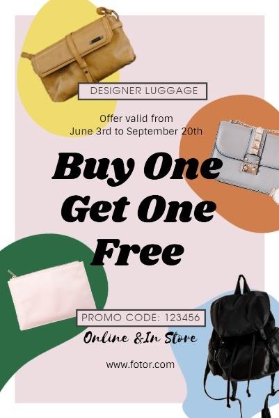 Pink Fashion Bag Sale