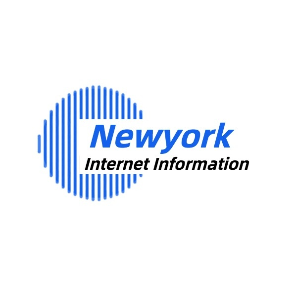 Blue Internet Information Logo