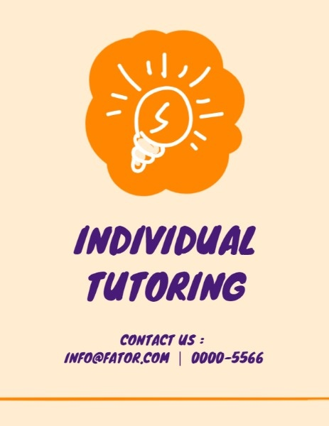 Induvidual Tutoring Program